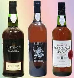 Бутылки с мадерой