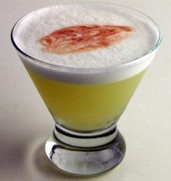 Перуанский коктейль писко сауэр