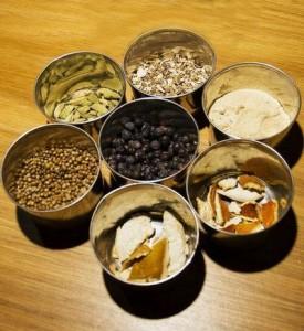 Ингредиенты для домашнего джина