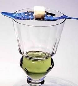 Французский метод пития абсента