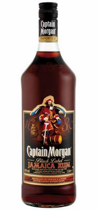 Ром Captain Morgan Black