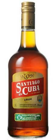 Ром Santiago de Cuba Anejo