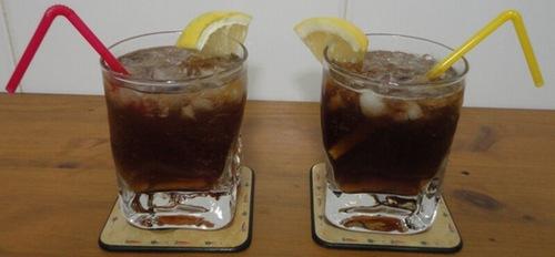 Чай с ромом и лимоном