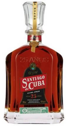 Ром Santiago de Cuba Extra Anejo