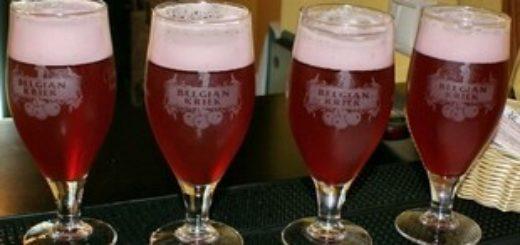 Бельгийское вишневое пиво Крик