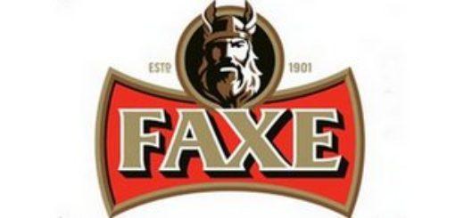 Логотип пива Faxe