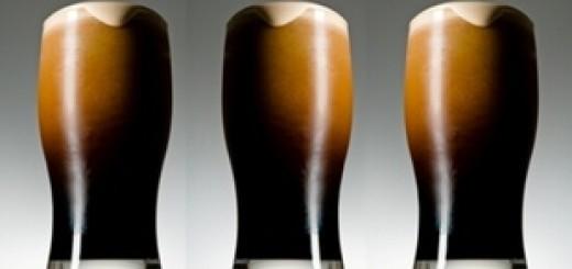 Три бокала стаута