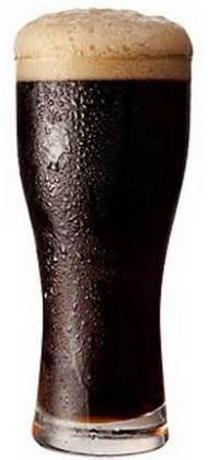 Бокал темного пива