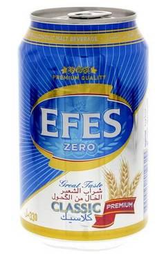 Безалкогольное пиво Эфес