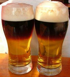 Бокалы с резанным пивом