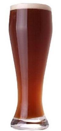Бокал копченого пива