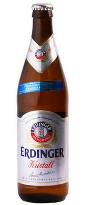 Пшеничное пиво Kristallweizen Ердингер
