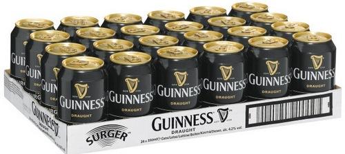 Упаковка баночного пива