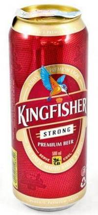 Банка пива Kingfisher
