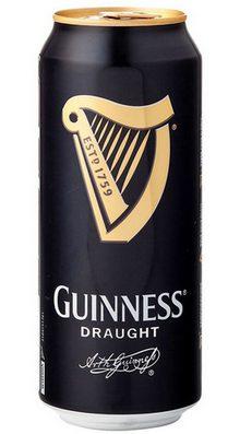 Темное пиво Гиннесс