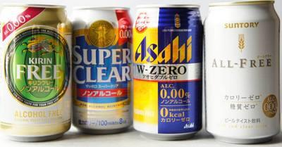 Банки безалкогольного пива