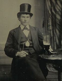 Джентльмен с пивом