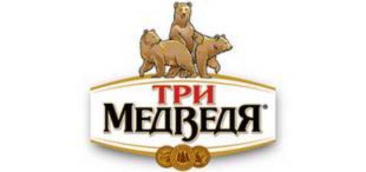 Эмблема пива Три Медведя