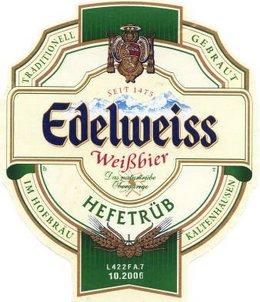 Логотип пива Edelweiss