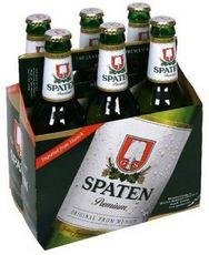 Упаковка пива Шпатен