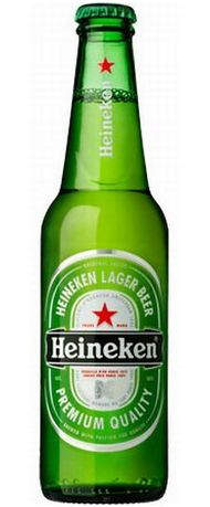 Бутылка пива Хайнекен