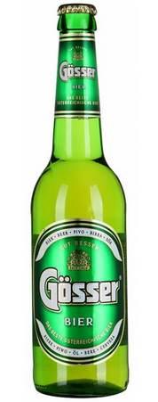 Бутылка пива Gosser