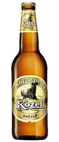 Пиво Velkopopovicky Kozel Svetly