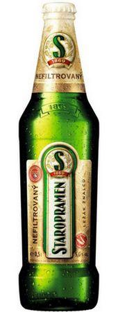 Пиво Старопрамен Нефильтрованное
