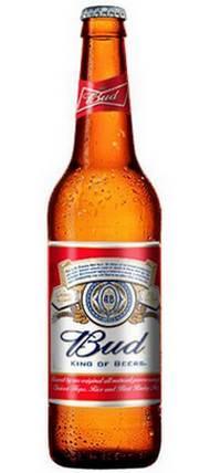 Бутылка пива Бад