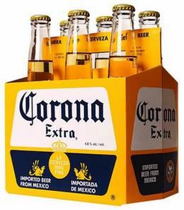 Упаковка пива Corona Extra