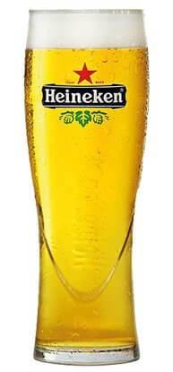 Бокал пива Heineken