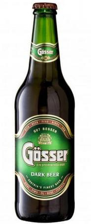Бутылка пива Gosser Dark
