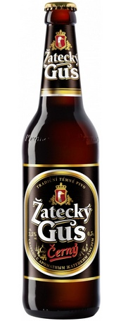 Бутылка пива Zatecky Gus Cerny