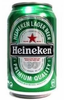 Баночное пиво Хайникен
