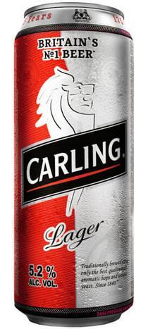 Баночное пиво Карлинг