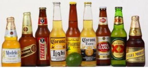 Бутылочное мексиканское пиво