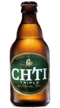 Бутылка пива Ch'ti triple