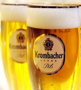 Два бокала с немецким пивом