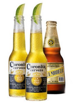 Мексиканское пиво с лаймом