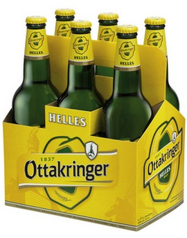 Упаковка пива Ottakringer
