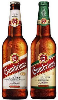 Чешское пиво Gambrinus