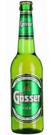 Бутылка австрийского пива Gosser