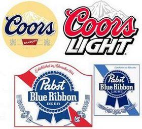 Эмблемы пивоваренных марок США