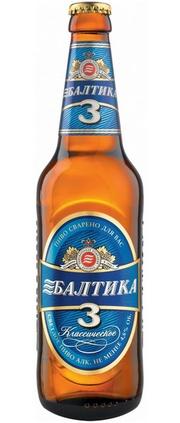 Пиво Балтика №3