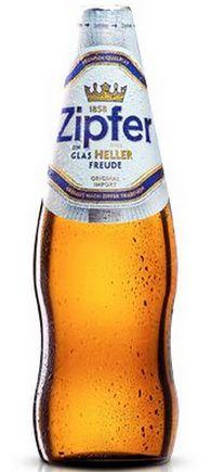 Бутылка пива Zipfer