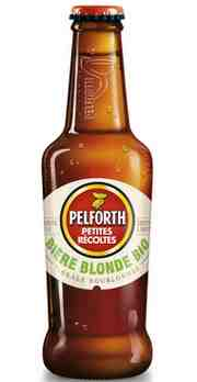 Бутылка пива Pelforth