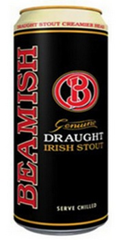 Банка пива Beamish Irish Stout
