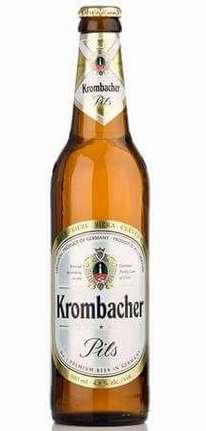 Бутылка Krombacher Pils