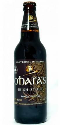 Бутылка пива O'hara's Celtic Stout