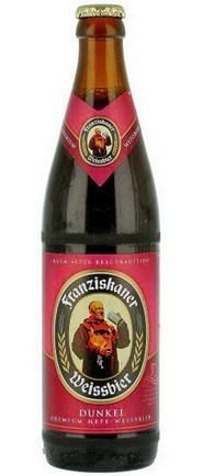 Бутылка Franziskaner Hefe-Weisse Dunkel
